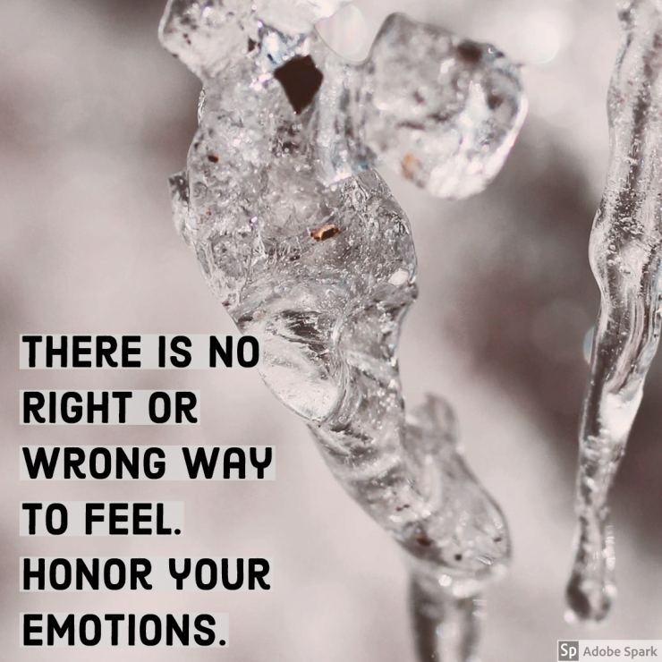 honor your emotions